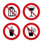 141 Niet drinken bij eten